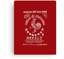 Sriracha Logo Canvas Print