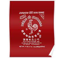 Sriracha Logo Poster