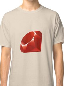 Ruby - Programming Language Logo Classic T-Shirt