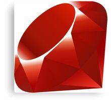 Ruby - Programming Language Logo Canvas Print