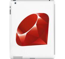 Ruby - Programming Language Logo iPad Case/Skin