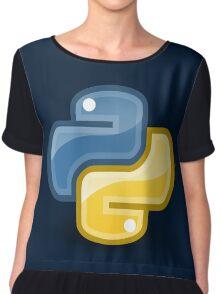 Python logo Chiffon Top