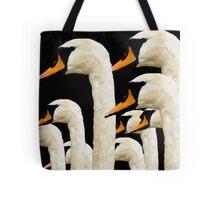 Galway Swans (Night) Tote Bag