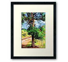 Beauty By the Train Tracks 5 Framed Print