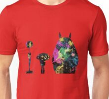Totoro Bus Stop Colors Unisex T-Shirt