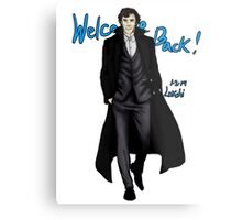 Sherlock Returns! Metal Print