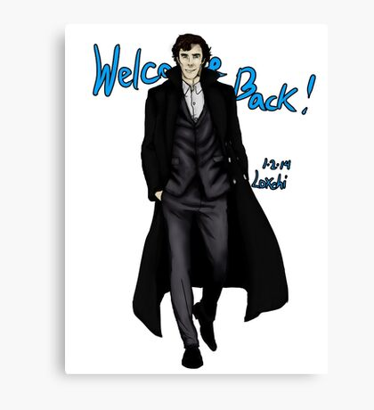 Sherlock Returns! Canvas Print
