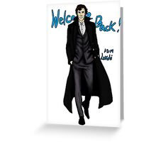 Sherlock Returns! Greeting Card