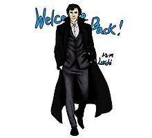 Sherlock Returns! Photographic Print