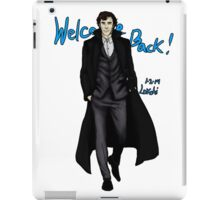 Sherlock Returns! iPad Case/Skin