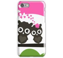 Enamoured owls iPhone Case/Skin