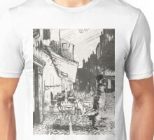 Café Terrace at Night Unisex T-Shirt