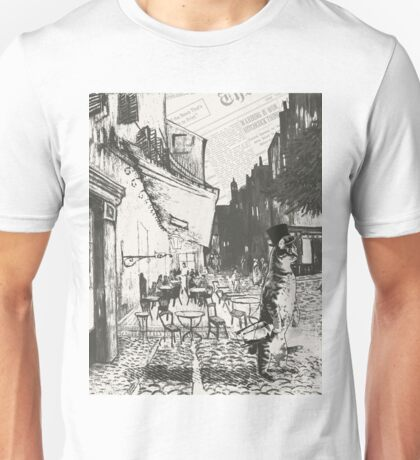 Café Terrace at Night Unisex T-Shirt