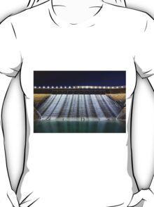 Dam at night in Hong Kong T-Shirt