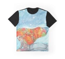 Winter Strikes Back - Watercolor Painting Graphic T-Shirt