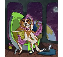 Extraterrestrial Dog Photographic Print