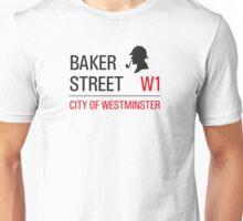Sherlock Holmes Baker Street W1 sign Unisex T-Shirt