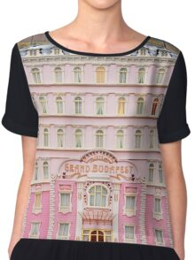 The Grand Budapest Hotel - Wes Anderson Film Chiffon Top