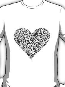 Heart a bird T-Shirt
