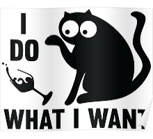 I do what I want! Poster