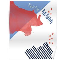 Saint Tropez Pattern // Shirt // Dress // Poster Poster