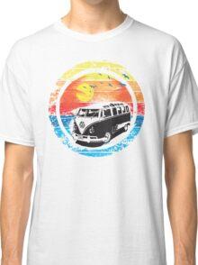 VW / Volkswagen Kombi Sunset Design Classic T-Shirt