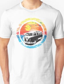 VW / Volkswagen Kombi Sunset Design Unisex T-Shirt