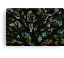 Abstract Tree 200 Canvas Print