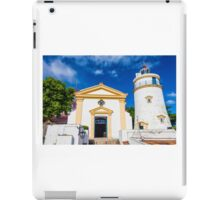 Macau light house iPad Case/Skin