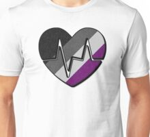 Asexual Beating Heart Unisex T-Shirt
