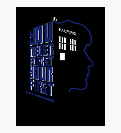 You Never Forget Your First - Doctor Who 8 Paul McGann Photographic Print