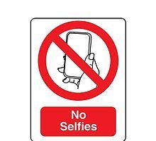 No Selfies by MyTshirtsViral