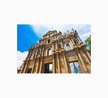 Ruins St Paul church in Macau, China Unisex T-Shirt
