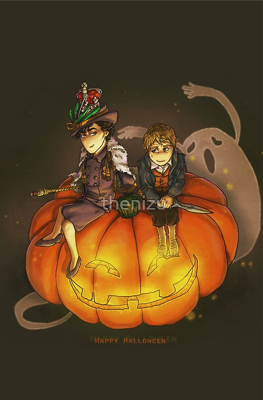 Sherlockian Hallowen by thenizu
