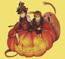 Sherlockian Hallowen Kids Tee
