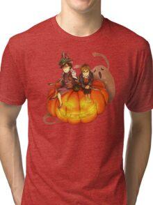 Sherlockian Hallowen Tri-blend T-Shirt