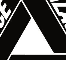 Palace Black Logo Clothing Sticker