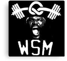W.S.M. | Mark Henry Canvas Print
