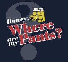 Honey, Where Are My Pants? One Piece - Long Sleeve