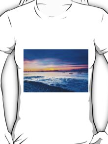 Sunset along the coast T-Shirt