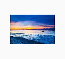 Sunset along the coast Unisex T-Shirt