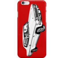 1966 Chevrolet Caprice 427 Car Illustration iPhone Case/Skin