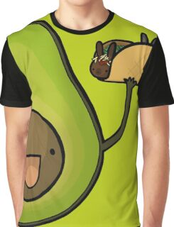 Avocado :: Carnivorous Foods Series Graphic T-Shirt