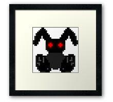 "HBS ""Black Bunny"" Framed Print"