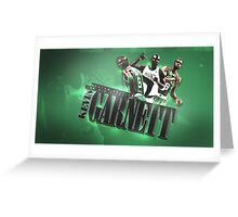 Kevin Garnett Greeting Card