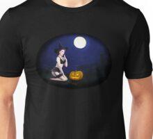 Vintage pin up girl - Halloween Unisex T-Shirt