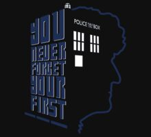 You Never Forget Your First - Doctor Who 3 Jon Pertwee One Piece - Long Sleeve