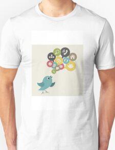 Social bird Unisex T-Shirt