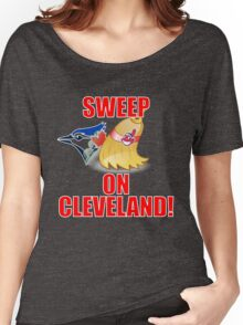 Cleveland Indians Sweep Blue Jays T-Shirt - ALCS Playoffs 2016 Women's Relaxed Fit T-Shirt