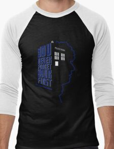 You Never Forget Your First - Doctor Who 4 Tom Baker Men's Baseball ¾ T-Shirt